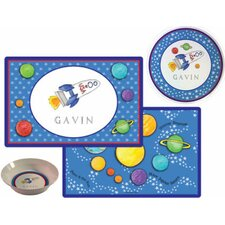 The Kids Tabletop Blast Off Place Setting (Set of 3)