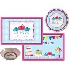 The Kids Tabletop Sweet Shop Place Setting (Set of 3)