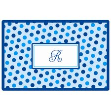 Everyday Tabletop Blue Dots Placemat