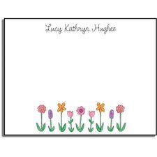 Stationery Collection Wildflowers Flat Notes