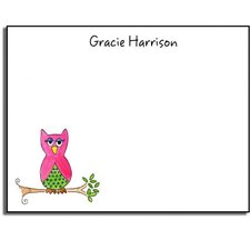 Stationery Collection What A Hoot Flat Notes