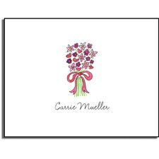 Stationery Collection Bouquet in Pink Folded Notes