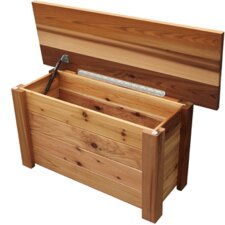 Wood Storage Bench / Toy Box
