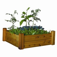 "13"" Raised Garden Bed with Safe Finish"