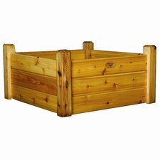 "19"" Raised Garden Bed with Safe Finish"