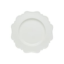 Pinpoint White Dinner Plate (Set of 4)