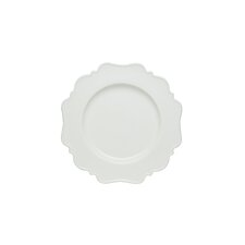 Pinpoint White Salad Plate (Set of 4)