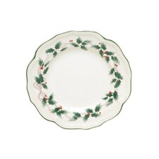 "Holiday Dinnerware 8.5"" Classic Salad Plates (Set of 4)"