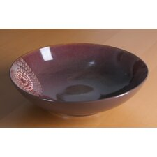 "Organic Brown 13"" Serving Bowl"