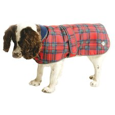 Royal Stewart Tartan Fleece Dog Coat