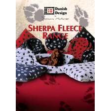 Sherpa Fleece Dog Quilted Mattress
