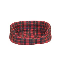 Royal Stewart Tartan Dog Slumber Bed