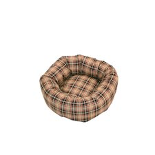 Classic Check Dog Cushion Bed
