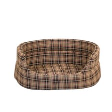 Classic Check Dog Slumber Bed
