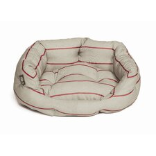 Heritage Herringbone Deluxe Dog Slumber Bed