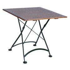 "European Café 32"" x 32"" Folding Table"