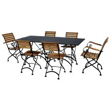 <strong>Furniture Designhouse</strong> European Café 7 Piece Dining Set