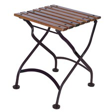 European Café Folding Coffee Table/Bench