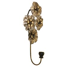 Flowers Metal Wall Hook