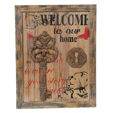 'Welcome' Key Wall Décor