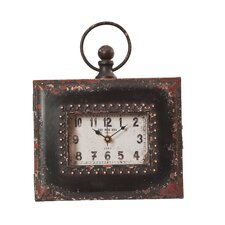 Horizontal Easel Table Clock
