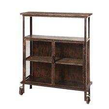 Rolling Wood Shelf / Cabinet