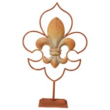 Fleur-de-lis Table Decor Figurine