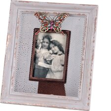 Metal Butterfly Picture Frame