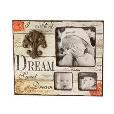 """Dream"" 3 Picture Frame"