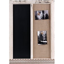 Wood Memo Holder / Blackboard