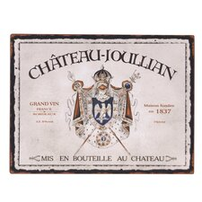 'Chateau / Pontet' Vintage Advertisement Plaque
