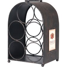 <strong>Wilco</strong> 5 Bottle Tabletop Wine Rack