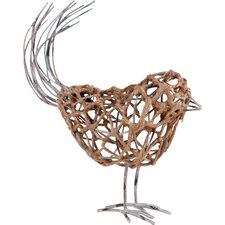 Bird Wire Decor Figurine