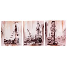 <strong>Wilco</strong> Wooden Wall Decor (Set of 3)