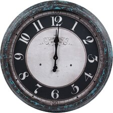 Round Metal Wall Clock