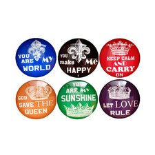 Magnet Buttons (Set of 6)