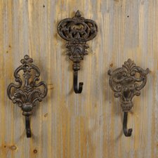 Metal Wall Hook (Set of 3)