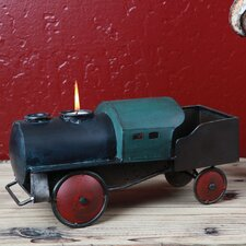 Metal Train Candle Holder