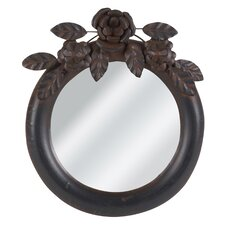 <strong>Wilco</strong> Round Metal Wall Decor Mirror