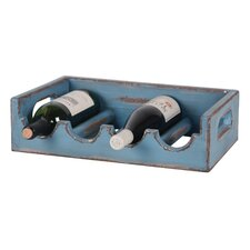 <strong>Wilco</strong> 4 Bottle Tabletop Wine Holder