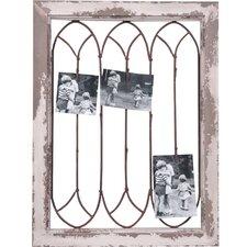 Photo Clip Wood Wall Plaque