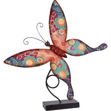 Butterfly Table Decor Statue