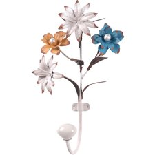 Flower Metal Wall Hook