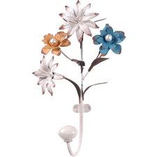 Flower Metal Wall Hook