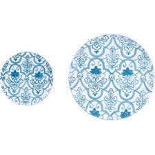 <strong>Wilco</strong> Metal Wall Decor Plates (Set of 2)