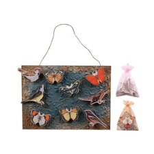 <strong>Wilco</strong> Bird / Butterfly Magnet Wall Décor