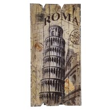 'Roma Pisa' Vintage Advertisement Plaque