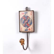 Jack of Diamond Wall Hook