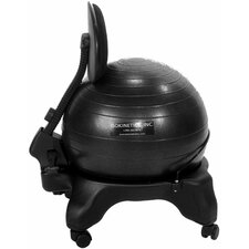 <strong>Isokinetics</strong> Adjustable Back Exercise Ball Chair