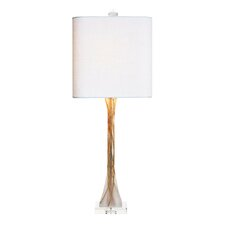 """Mirage 33.5"""" H Table Lamp with Drum Shade"""
